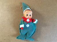 Vintage Christmas Boy Ornament Japan