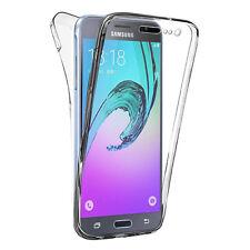 Coque Silicone Gel ultra 360° Avant et Arrière Samsung Galaxy J3 (2016) J320F