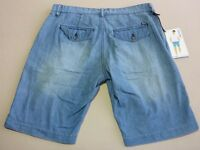 056 MENS NWT LEE RIDERS CHINO CHAMBREY SUMMERWEIGHT DENIM SHORTS SZE 32 $90 RRP.