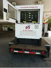 MULTIQUIP PORTABLE TOWABLE WHISPERWATT 70 KVA AC GENERATOR W/ JOHN DEERE!