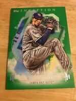 2019 Topps Inception Blake Snell Green Parallel #41