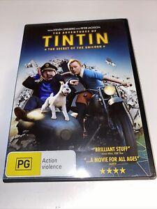 The Adventures Of Tintin: The Secret Of The Unicorn (DVD, 2011) Region 4