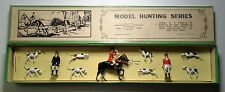"Britains Set # 1446 "" The Meet Hunting "" Series w/ Box"