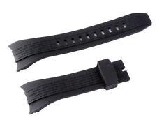 Relojes pulsera kunsstoff 26 mm negro para Seiko Lord SNDE 81 snt027p2 snae 14, etc.