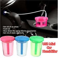 Portable Car Home USB Mini Air Humidifier Fresh Purifier Aroma Diffuser Mist