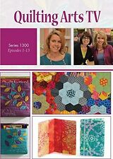 DVDs Only! Quilting Arts TV Series 1300 with Pokey Bolton [4-Disc Set]