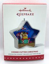 Hallmark Keepsake Cookie Cutter Christmas 4th In Series Ornament 2015