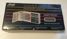Vintage Hunter Energy Monitor Programmable Thermostat Original Box 42201