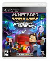 Minecraft: Story Mode - The Complete Adventure (Sony PlayStation 3 / PS3)