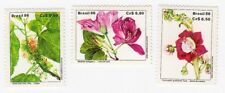 Brazil MNH 1986 Flowers Plants Nature  set mint stamps**