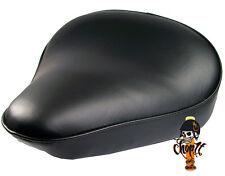 Schwarzer Motorrad Solositz im klassischem Design für Bobber VN800 Kawasaki