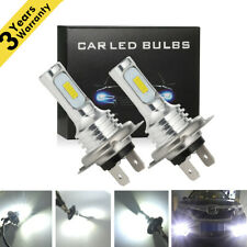 H7 LED Headlights Bulbs Kit High Low Beam 35W 4000LM Super Bright 6000K White PO