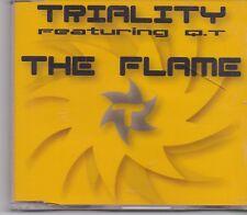 Triality-The Flame cd maxi single 8 tracks eurodance holland
