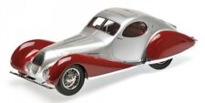 Talbot Lago T150-C-SS Coupe' 1937 Silver & Red 1:18 Model 107117121 MINICHAMPS
