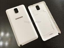 Samsung Note3 N9005 N900 Original Back Housing Battery Door Rare White Gold logo