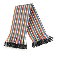120 pcs Dupont Cables M-F, M-M, F-F Jumper Wire GPIO Pi Arduino Breadboard FT