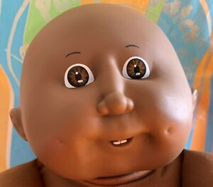 CABBAGE PATCH DOLL ~ BLACK AFRICAN AMERICAN BALD CPK ~  #10 HEADMOLD