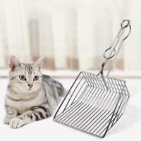 Cat Litter Scoop Metal Waste Scooper Poop Pet Sand Shovel Cleaning New P9D2 J9U5