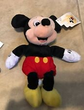 Mickey Mouse Official Disney Parks Mini Bean Bag Plush Toy NEW with Tag 8""