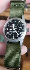 Vintage Hamilton - Khaki Men's Wrist Watch .... Manual Wind .... Eta 2750