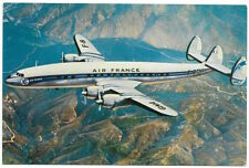 Postcard Air France Giant Super Constellation Airplane~104480