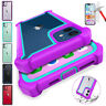 For iPhone 12 / 12 Pro Max 11 Clear Shockproof Hybrid Bumper Rubber Case Cover