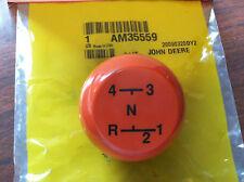 John Deere 210 212 214 216 shift lever knob NEW! AM35559