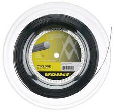VOLKL CYCLONE TENNIS STRING - 1.15MM 18L G - 200M REEL - BLACK - RRP £120