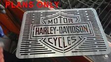 Harley Davidson BBQ plans