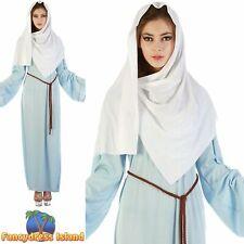 CHRISTMAS NATIVITY VIRGIN MARY - Size 10-14 - womens ladies fancy dress costume