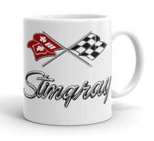 CHEVY CORVETTE STINGRAY     Badge Design  Quality 11oz mug.  CHEVROLET