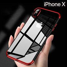 Housse Etui Coque Bumper Antichocs Case Cover Apple iPhone X/xs Rouge