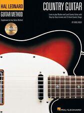 Hal Leonard país Método De Guitarra Aprende A Tocar Chet Atkins Etiqueta música Book & Cd