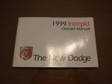 1999 Dodge Intrepid Owners Manual
