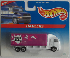 "Hot Wheels Haulers - LKW / Truck weiß/flieder ""Good & Plenty"" Neu/OVP"