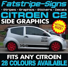 CITROEN C2 GRAPHICS CAR VINYL STRIPES DECALS STICKERS VTR VTS 1.1 1.4 1.6 GT