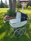 Vintage 1950s Baby Carriage Buggy Stroller Bilt Rite ( Cadillac)