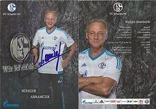 Autogramm AK Rüdiger Abramczik FC Schalke 04, Borussia Dortmund, 1. FC Nürnberg