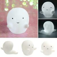 LED HALLOWEEN CUTE GHOST DESIGN LUMINOUS LAMP HOLIDAY PARTY KID GIFT NIGHT LIGHT