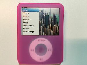 COVER CASE TO FIT USE FOR APPLE IPOD NANO 3RD THIRD 3 G 3G GENERATION GEN
