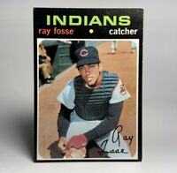 1971 Topps Ray Fosse #125 Cleveland Indians NM