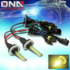 H1 3000K XENON HID YELLOW HIGH BEAM HEADLIGHT/35W LIGHT BULBS AUDI HONDA ACURA