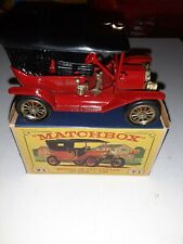 VINTAGE MATCHBOX Lesney MODELS OF YESTERYEAR 1911 Model T Ford VERY NICE LOOK
