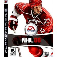 PS3 NHL 08 Video Game Full 1080p HD Official Hockey Players & Tournament 2008