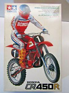 Tamiya 1:12 Scale Honda CR450R Motocrosser with Rider Model Kit New # 1418*1000