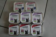 YARRAH lot de 8 pâtés bio - nourriture pour chat, sans céréales