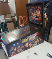 virtual pinball machine, pinball x front end, star trek theme