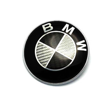 BMW Roundel Carbon Fiber EMBLEM for Hood or Trunk ORNAMENT P/N 51148132375