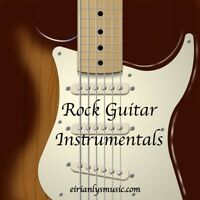 SUPPORTING NHS CHARITY: ROYALTY FREE MUSIC CD 20 track Rock Guitar Instrumentals
