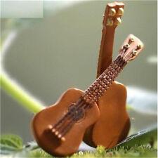 Miniature Dollhouse Garden Craft Fairy Bonsai DIY Decor ~Guitar~ 1PC